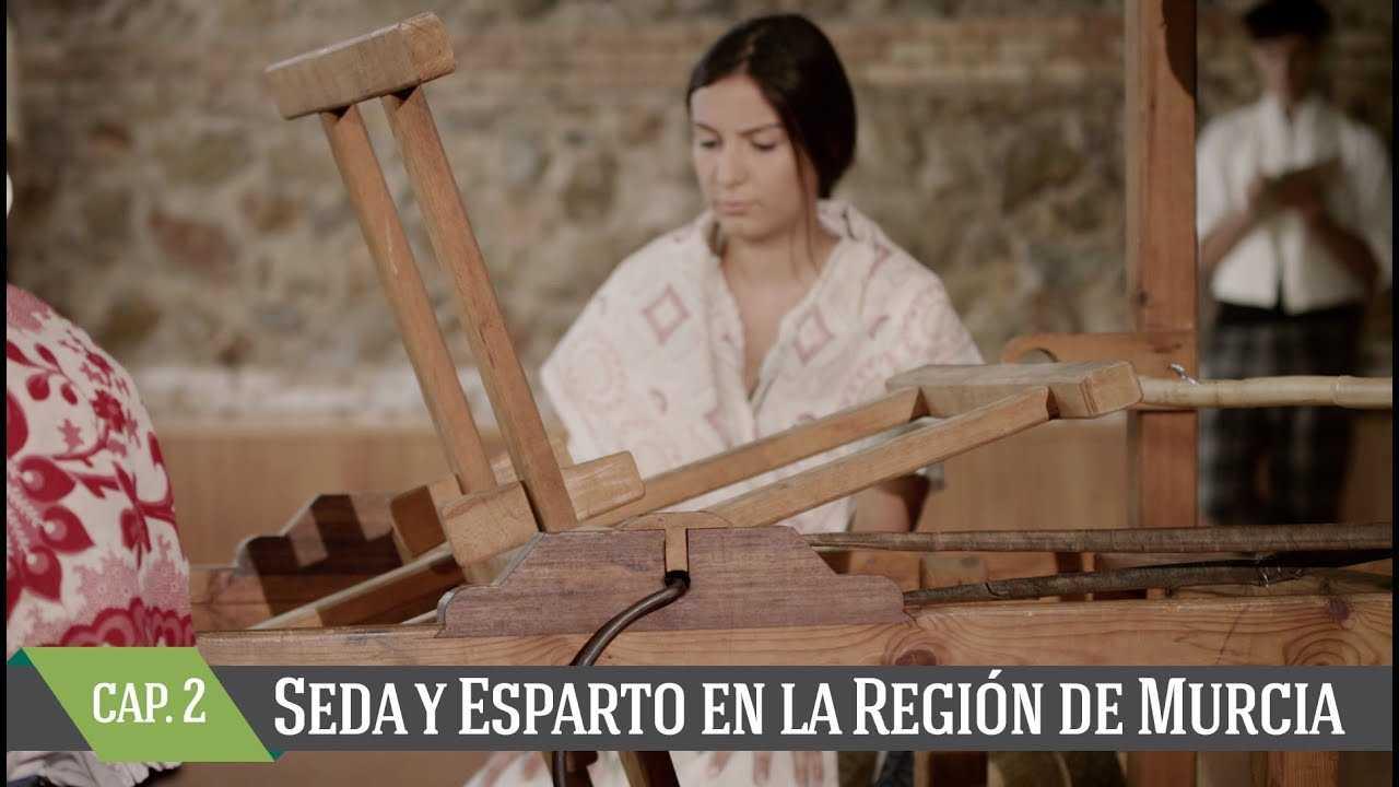 Seda y esparto en la Región de Murcia